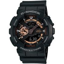 Relógio Casio G-shock Ga-110rg-1a W200 H.mundial 5 Alarmes P