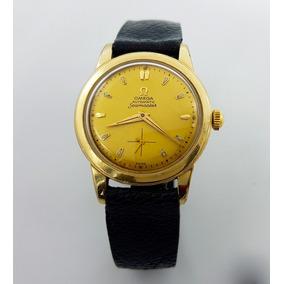 Reloj Omega Seamaster Chapa De Oro Antiguo Automatico