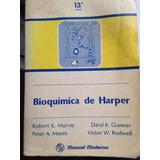 Libro Bioquímica De Harper, Murray, Mayes, Granner Y Rodwell