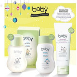 Shampoo+ Crema Protectora+ Colonia Sin Alcohol Baby Avon