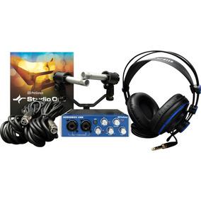 Kit P/gravação Estéreo De Shows Ensaios Presonus Audiobox