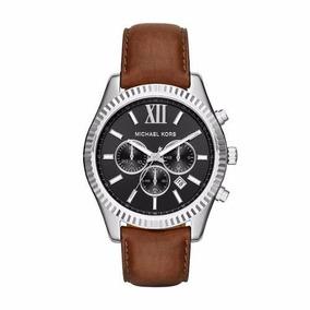 Reloj Michael Kors Mk8456 Hombre 100m Cuero Crono