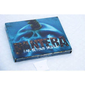 Digipack Deluxe - Pantera Far Beyond Driven - Cd Duplo