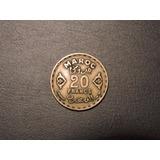Marruecos 20 Francs O Francos Año 1371 / 1951