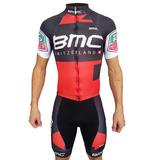 Remera Calza Zr3 Bmc Pro Cycling Con Tiradores Nuevo Gel