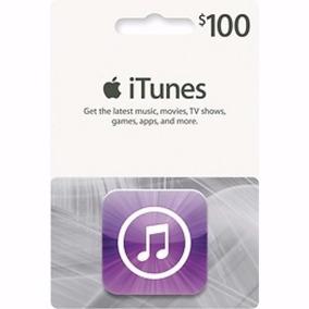 Cartão Itunes Gift Card $100 Dólares - Contas Americanas