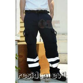 Pantalon Con Reflejante Paramedico Bicicleta Motocicleta