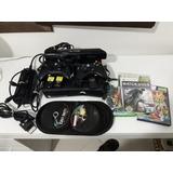 Xbox 360 Slim Destravado Rgh+kinect/usado