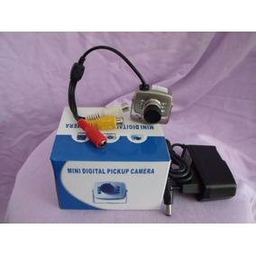 Camara Espía Seguridad Con Audio Y Transformador