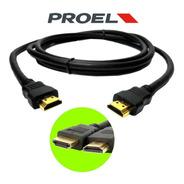 Cable Hdmi De Alta Definicion Full 1080p Proel 1,8 M La Roca