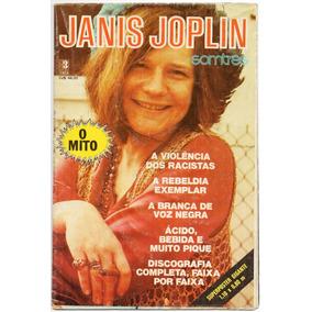 Poster - Som Três - Janis Joplin - 1ª Edição - Raríssimo