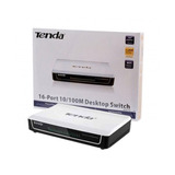 Switch Tenda 16 Puertos S16 10/100 Fast Ethernet Ubntmexico