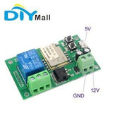 Sonoff 12v Ou 5v Interruptor Wifi Com Possibilidade De Pulso
