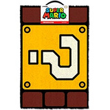 Limpiapies Super Mario Question Block