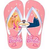 Chinelo Barbie Infantil Menina Barato Feminino 20 Pares
