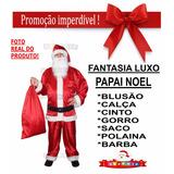 Roupa Papai Noel Fantasia Xgg - Promoção Do Velhinho Hohoho!