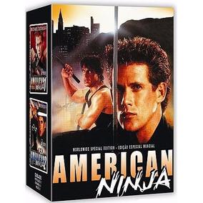 Box American Ninja , Ninja Americano 5 Dvds