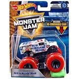 Hot Wheels Monster Jam Ice Cream Man Incluye Auto Aplastable