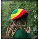 Gorro Rastafari Tejido A Crochet. Artesanal!!