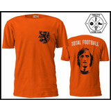 Remera Holanda 74 Total Football Cruyff Firulete Futbol Club