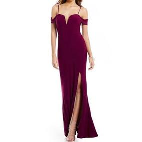 Vestidos de fiesta de color uva