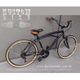 Bicicleta Beach Bike Vintage Harley -retro Caiçara