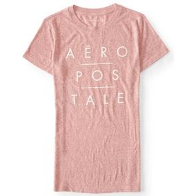 Camiseta Aeropostale Original Feminina Diversos Modelos