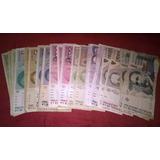 Lote 38 Billetes Australes Argentina S/ Repetir 1985-1992