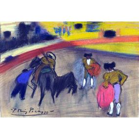 Lienzo Tela Canvas Pablo Picasso El Picador 1900 50 X 72 Cm