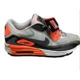 Tenis Nike Airmax 90 Em Couro Original Importado Masculino