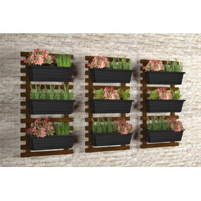 Jardim Vertical / Horta Vertical / Floreira Suspensa