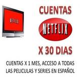 Neftlix Cuente Premium Hd/4k 4 Pantallas. No Cae. Oferta!!