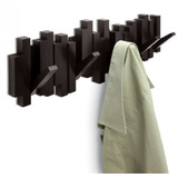 Perchero De Pared Sticks Umbra 5 Perchas Retraibles