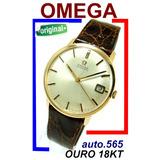 435463d9178 Omega Automatic 565 Ouro 18k 750 Suíço 100% Original 1966!