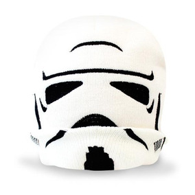 Beanie Infantil Niño Disney Star Wars D Stormtrooper