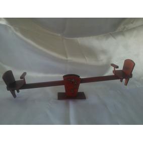 Brinquedo- Mini Gangorra Em Madeira-nº 1410