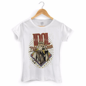 Camiseta Feminina Billy Idol Fatal Charm - Bandup!
