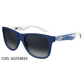 Oculos Solar Mormaii Lances 42254833 Azul Branco Fosco