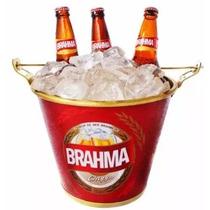 Balde Para Cerveja Brahma Com Alça Abridor De Garrafa