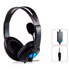Headset Fone Ouvido Microfone Playstation 4 Ps4 Xbox One H12