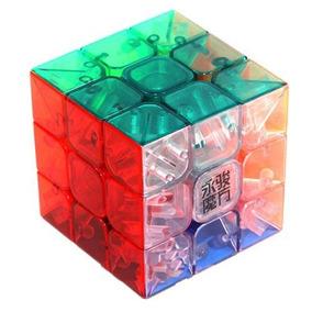 Cubo Mágico Profissional 3x3x3 Transparente