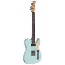Guitarra Electrica Stagg Tipo Telecaster Vintage Sonic Blue