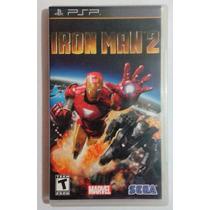 Jogo Original Psp - Iron Man 2