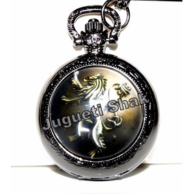 Reloj Bolsillo Game Of Thrones Con Estuche! Stark, Targaryen
