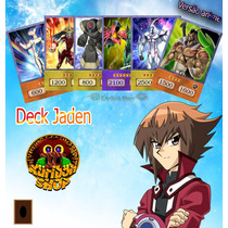 Deck Jaden Yuki 50 Cartas Versão Anime Yu-gi-oh Gx