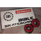 Rodajes Para Skateboards Marca Bible Abec 5 Importado