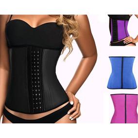 Cinta Faixa Modeladora Afina Cintura Feminina 5 Barbatanas