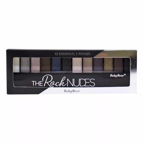 Paleta De Sombra Ruby Rose The Rock Nudes Primer Make Naked