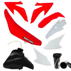 Kit Plastico Crf 230 Tork Adaptável Xr 200 + Nx 200 + Dt200