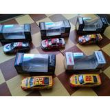 Autos Nascar 1/64 #22, #22, #18, #42, #27 C/cajas $450.- C/u